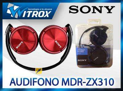 Audifonos sony mdrzx310, ideal galaxy, iphone, xperia nuevos