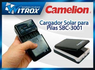Cargador solar sbc3001