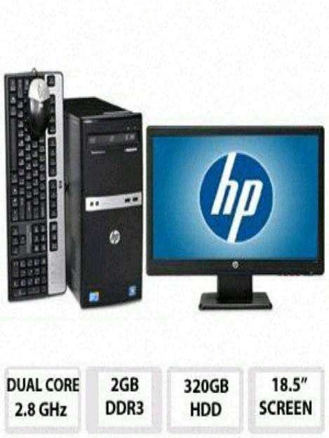 Computadora completa hp