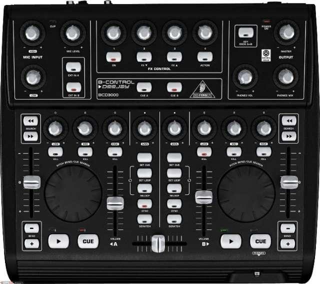 Controlador bcd3000 behringer
