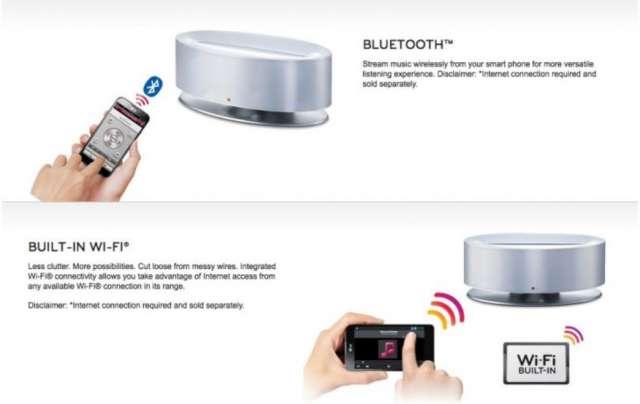 En venta parlantes inalambrico para iphone, lg, htc, samsung y motorola a solo 450 soles!!