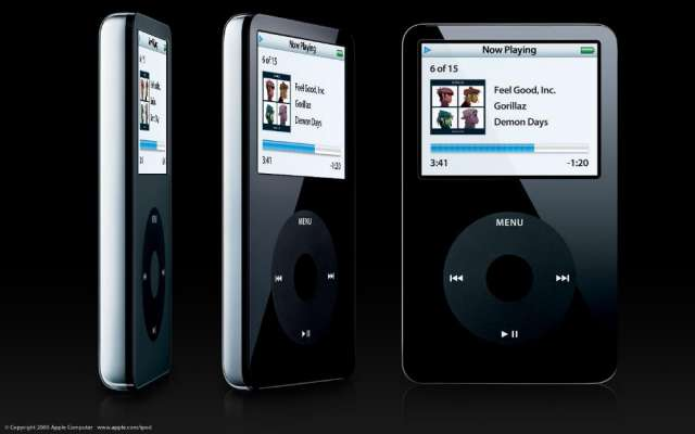 Ipod video 30gb apple !!! black model number a1136 o lo cambio !!!
