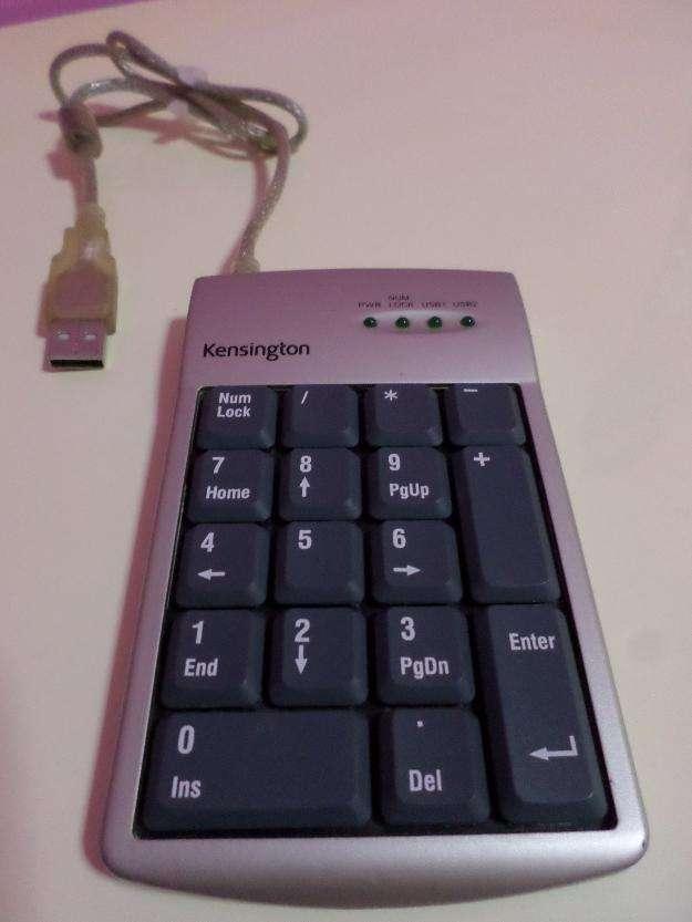 Kensington teclado numérico con 2 puertos usb