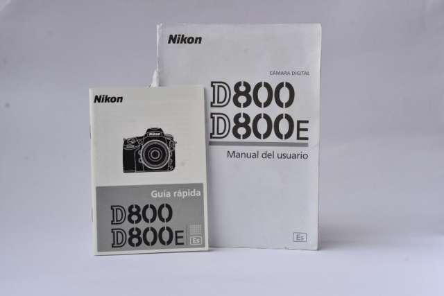 Manuales de camaras nikon d800 d600 d7100