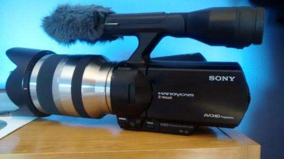 Sony nx vg 20