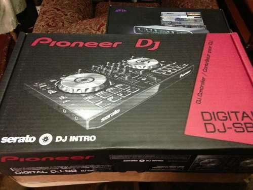 Vendo controlador dj pioneer ddjsb, nuevo! con serato dj