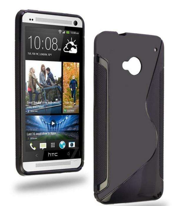 Case carcasa antideslizante para htc one m7