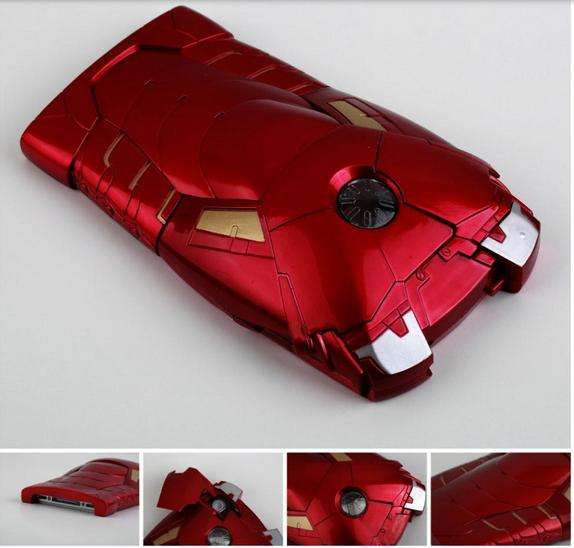 Iphone 4 4s 5 5s carcasa case ironman