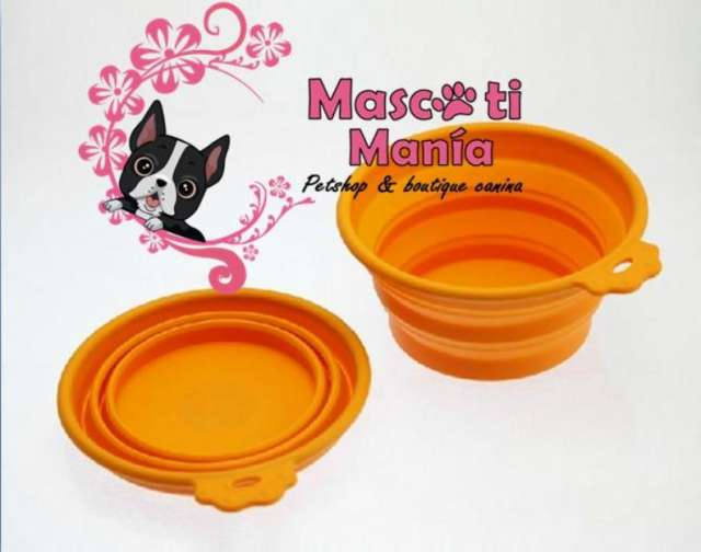 Lindos platos plegables para perro