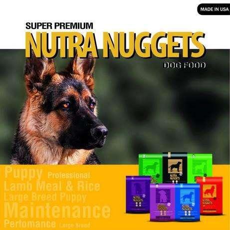 Oferta comida super premium nutra nuggets