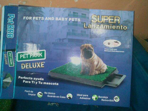 Super baño ecológico para mascotas