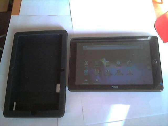 Tablet aoc 8 4gb /android/camara frontal trasera