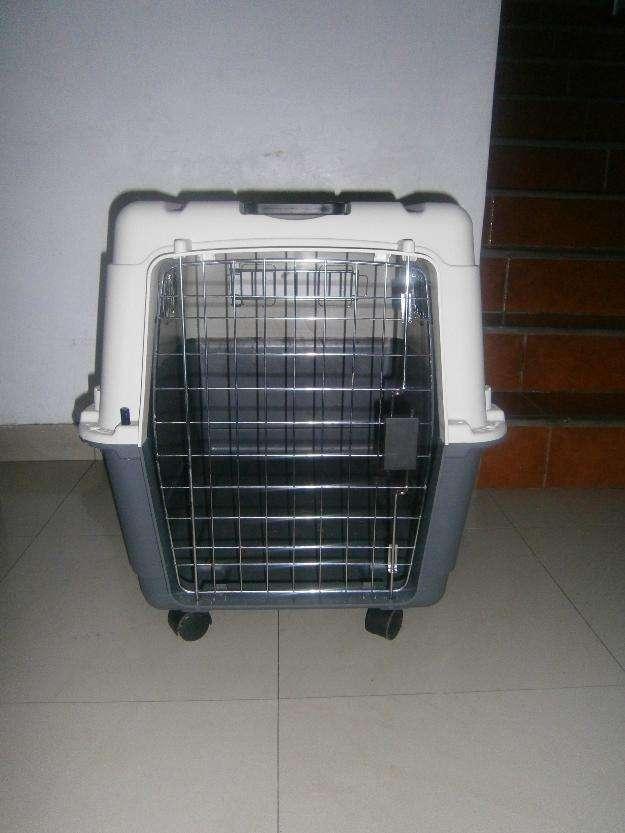 Vari kennel jaula transportadora para perros medianos l80
