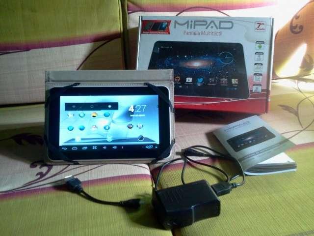 Vendo una tablet mipad de 7 pulgadas, táctil roto. s.o operativo