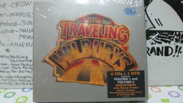 Cd sellado the traveling wilburys 2007