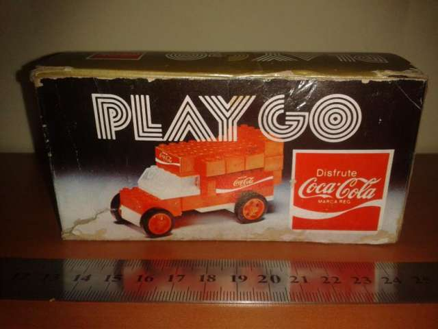 Coca cola play go antiguo