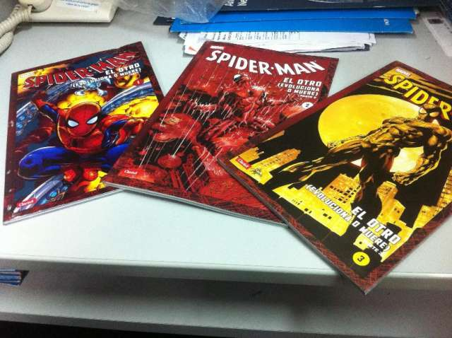 Comics: spiderman the other