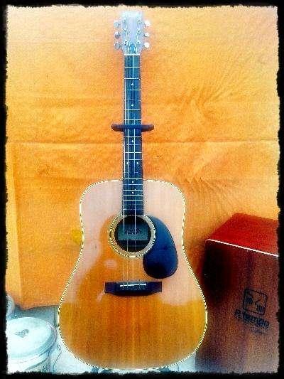 Guitarra japonesa tokai hummingbird w180