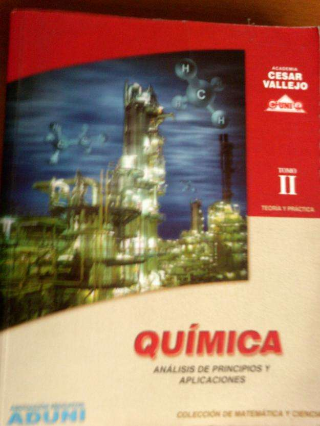 Quimica: tomo 2 , vallejo, lumbreras, color