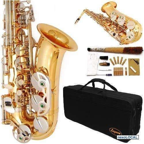 Saxofón alto california estilo americano, s/. 980.00 t. 2590332 / producto nuevo