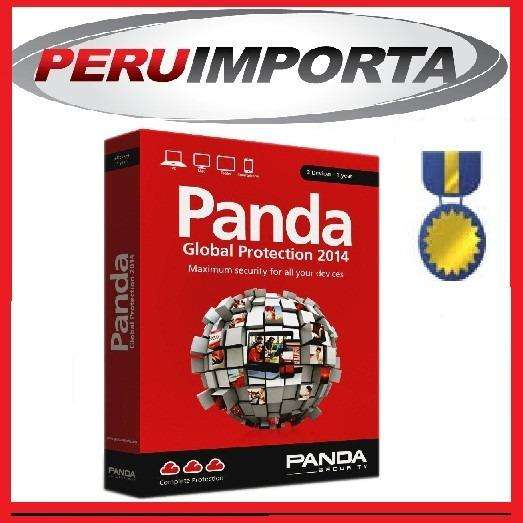 Antivirus panda internet security 2014 3pc 1 año android mac