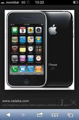 Iphone 3 semi nuevo por ocacion