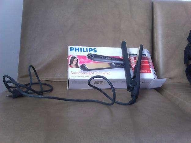 Plancha delgada para el cabello phillips