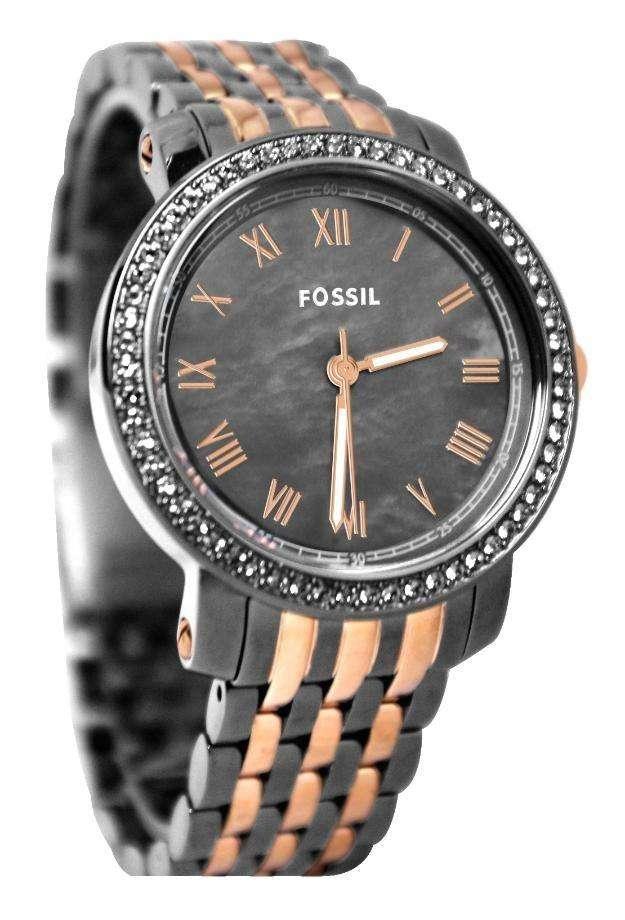 Reloj fossil es3115 emma bicolor para dama.stock 20 de oct. 2014