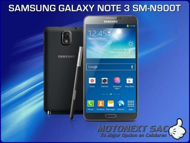 Samsung galaxy note 3 4g 32gb nuevo en caja libre de fabrica