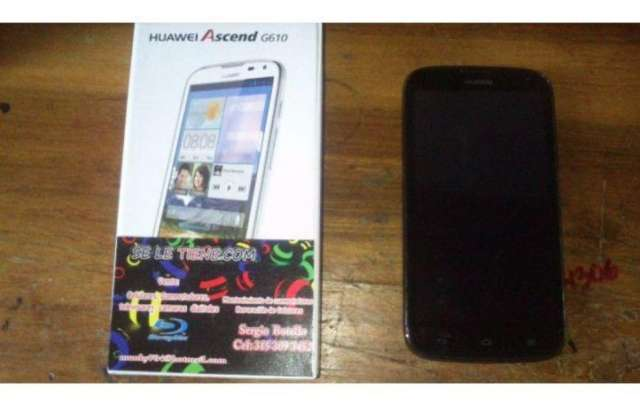 Vendo o cambio huawei g610 htc iphone galaxy