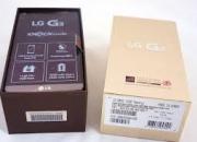 LG G3 CON UNA SEMANA DE USO EN SU CAJA