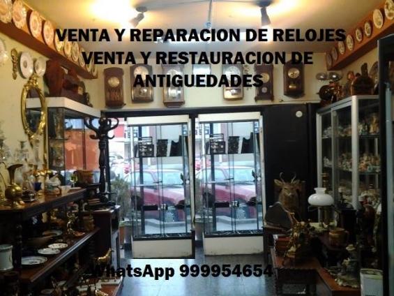 Venta y reparación de relojes antiguos en lima