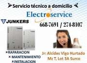 JUNKERS// servicio tecnico *6687691*// THERMAS//lima surco