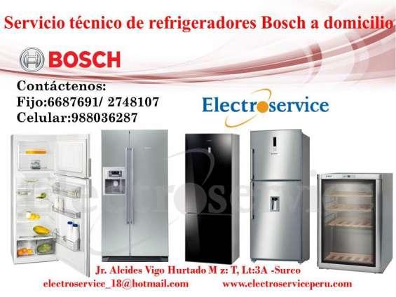 //domicilio servicio tecnico |°°| 2748107 |°°| refrigeradores bosch//