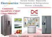 Servicio técnico de artefactos daewoo/ electroservice * telf.: 2748107