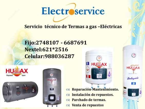 Servicio tecnico reparacion-de termas humax