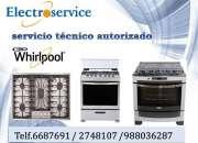 // servicio técnico de cocinas Whirlpool*