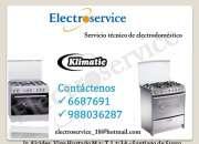 Mantenimiento de COCINAS KLIMATIC=TECNICOS