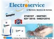 Servicio  Técnico De Termas ROTOPLAS*988036287