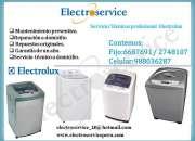Reparación de lavadoras Electrolux*6687691