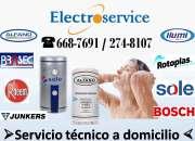Servicio técnico termas alfano  electroservice**6687691**