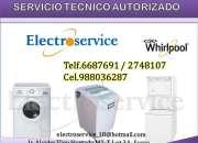 6687691* SERVICIO TECNICO DE LAVADORAS WHIRLPOOL