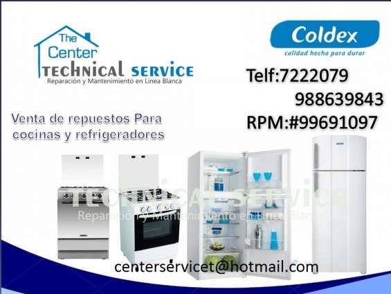 $servicio a domicilio *cocinas coldex...996091097reparacion /surco /la molina(garantizado)