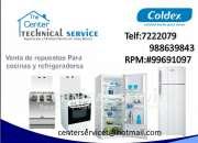 $servicio a domicilio *cocinas coldex...996091097…