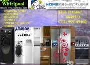 Servicio  técnico 2743847 */*/ lavadoras  whirlpool  lima  @