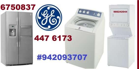 Servicio tecnico general electric lavadora secadora 6750837