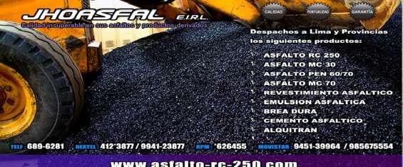 Llego un buen asfalto envios nacionales buenos precios