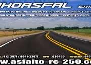 Venta de asfaltos en lima y provincias/buen precio JHOASFAL E.I.R.L