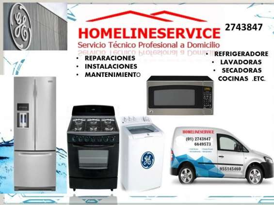 Mantenimiento refrigeradores general electric 2743847//domicilio