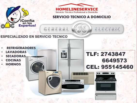 ??servicio tecnico cocinas general electric lima domicilio 2743847 ?